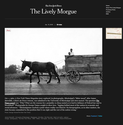 Launched: New York Times photo archives get full exposure via new Tumblr blog