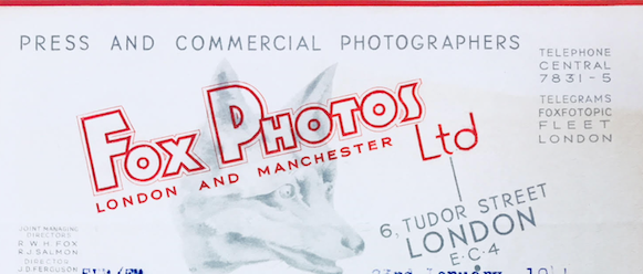 Updated: Photographers and Press Photo Agency letters