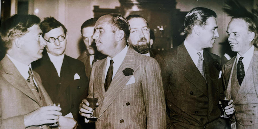 Images required: Douglas Fairbanks event – Carlton hotel event 17.8.1933
