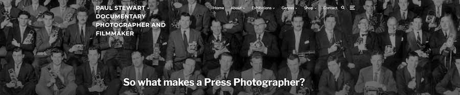 For the record: Express Photographer Staff line up 1960
