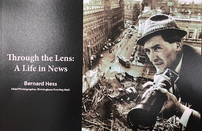 News photographer Bernard Hess Through the Lens: A Life in News